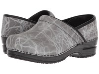 Sanita Smart Step Professional Monsoon Grey Women's Clog Shoes Gray