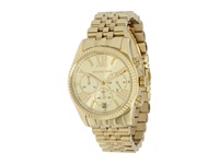 Michael Kors Mk5556 Vintage Classic Lexington Chronograph Gold Analog Watches