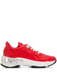 Casadei Chunky Sneakers Red