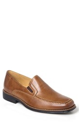 Sandro Moscoloni Men's Marc Venetian Loafer Tan Leather