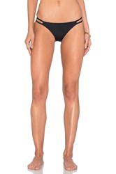 Nightcap Side String Bikini Bottom Black
