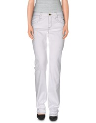 Carlo Chionna Trousers Casual Trousers White