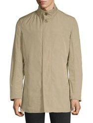 Sanyo Myrtle Trench Coat Sand Midnight