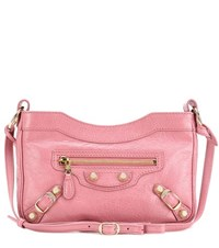 Balenciaga Giant 12 Hip Leather Shoulder Bag Pink