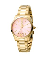 Just Cavalli 32Mm Relaxed Bracelet Watch Pink