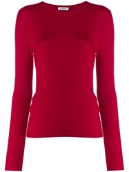 P.A.R.O.S.H. Crew Neck Jumper Red