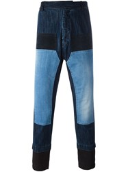 Antonio Marras Patchwork Jeans Blue