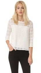 Bb Dakota Jack By Cuthbert Striped Top Ivory