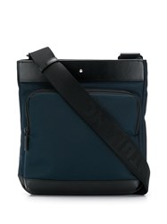 Montblanc Cross Body Messenger Bag Black