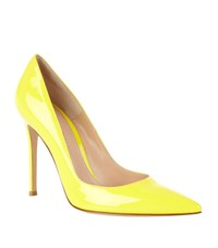 Gianvito Rossi Bari Patent Court Female Yellow
