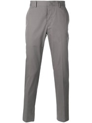Lanvin Stripe Tailored Trousers Grey
