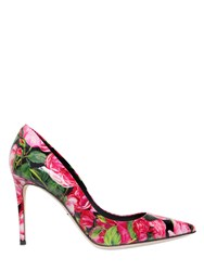 Dolce And Gabbana 85Mm Kate Rose Patent Leather Pumps