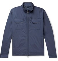 Peter Millar All Weather Flex Discovery Slim Fit Jacket Blue