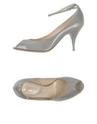 Grey Mer Pumps Light Grey