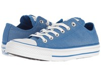 Converse Chuck Taylor All Star Brea Animal Glam Textile Ox Soar Silver White Women's Classic Shoes Blue