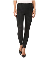 Liverpool Reese Ankle Leggings Houndstooth Magnet Women's Jeans Black