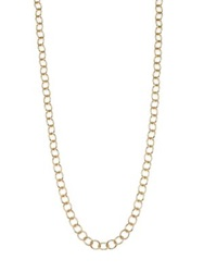Temple St. Clair 18K Yellow Gold Classic Oval Link Necklace Chain 18