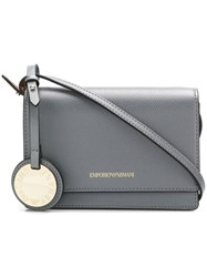 Emporio Armani Small Crossbody Bag Grey