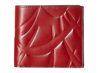 Marni Flutter Print Wallet Rust Wallet Handbags Red