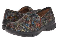Nurse Mates Libby Starry Night Black Women's Clog Shoes