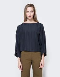 Rodebjer Petry Silk Top In Anthracite