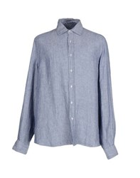 Altea Shirts Shirts Men Dark Blue