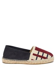 Guanabana Striped Canvas And Suede Espadrilles Multi