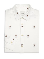 Paul Smith Bee Embroidered Shirt