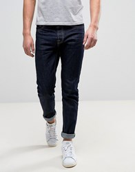 Bellfield Tapered Leg Indigo Jeans Blue