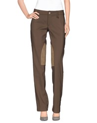 Brooksfield Trousers Casual Trousers Women Khaki