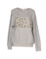 Ashish Sweatshirts Light Grey
