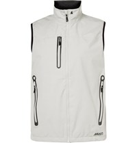 Musto Sailing Corsica Br1 Waterproof Shell Gilet Off White