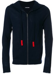 Zadig And Voltaire Clash Hoodie Blue