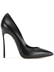 Casadei Blade Pumps Women Leather Nappa Leather 37 Black