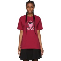 Kenzo Pink Limited Edition Cupid T Shirt