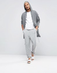 Asos Loungewear Jogger With Elasticated Cuffs Grey