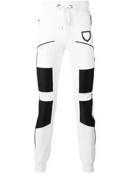 Philipp Plein Almond Track Pants White