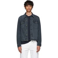Rag And Bone Black Denim Definitive Jacket
