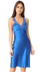 Stella Mccartney Eloise Enchanting Chemise Classic Blue