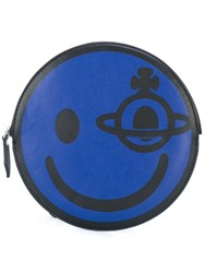 Vivienne Westwood Anglomania 'Smile' Clutch Blue