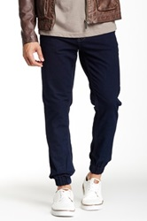 Antique Rivet Hogan Denim Jogger Blue