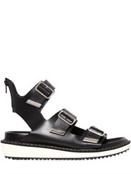 Givenchy Belted Leather Sandals