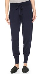Donna Karan Cashmere Sweatpants Dark Navy