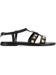 Fausto Puglisi Embellished Sandals Black