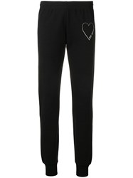 Love Moschino Lounge Track Trousers Black