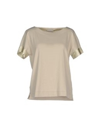 Le Tricot Perugia T Shirts Light Green