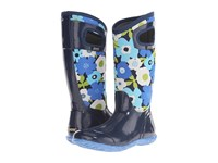 Bogs North Hampton Spring Flowers Navy Multi Women's Rain Boots Blue