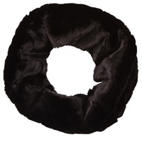 Phase Eight Ola Faux Fur Snood Black