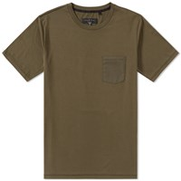 Rag And Bone Trooper Pocket Tee Green