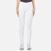 Levi's Women's 721 High Rise Skinny Jeans Western White